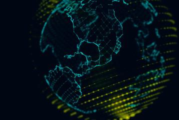 Connected digital globe