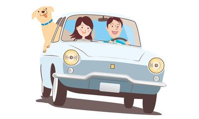 ペットとドライブ