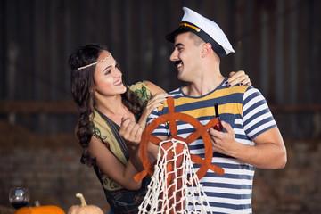 Sailor and Pocahontas