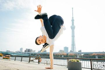 Breakdance Pose 1