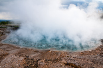Wall Mural - Excelsior Geyser Crater