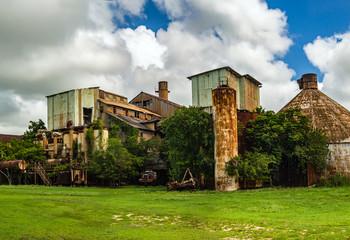Abandoned Old Koloa Sugar Mill in Kauai, Hawaii