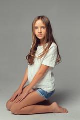 young girl, teenager