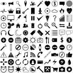 general icons vector design