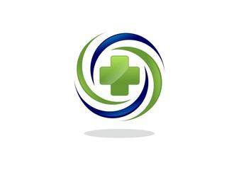 Medical Health abstract logo