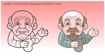 Leader of the Russian Revolution Vladimir Lenin