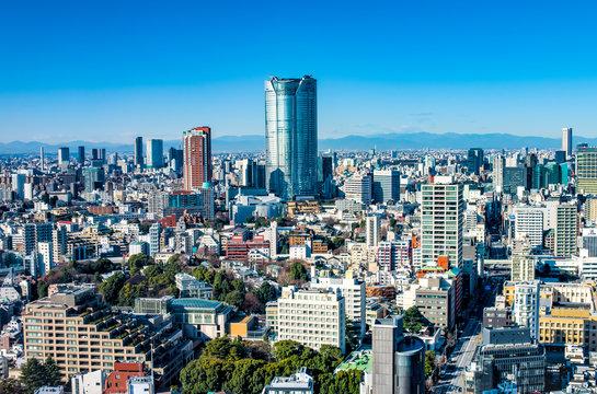 都会の風景_HDR