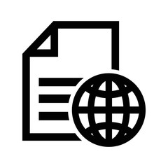 global file symbol icon