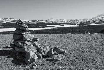 Steinskulptur, Norwegen