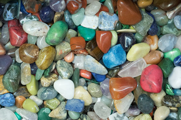 Colorful Polished Stones