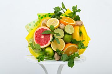 Bouquet of fruits
