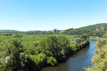 River Dordogne in France
