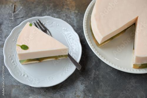 Gotterspeise Sahne Kuchen Stockfotos Und Lizenzfreie Bilder Auf