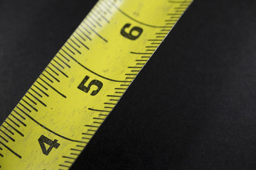 A Few Inches of a Measuring Tape