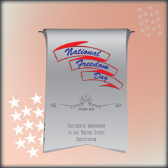 Banner National Freedom Day