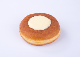 donut or cheese donut on a background.