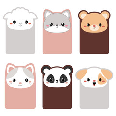 Collection of cute cards.