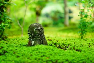 京都圓光寺のお地蔵さん