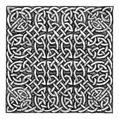traditional Celtic pattern