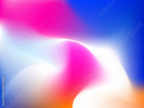 Abstract Modern Gradient Background With Pink Orange Blue Phone X Wallpaper