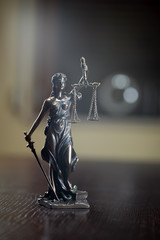 Law and Justice concept image
