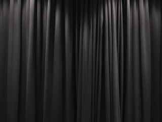Stage Curtain Black curtain backdrop background