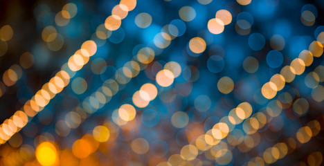 Beautiful abstract Background with bokeh lights.