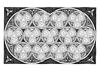 Celtic Spirals Designs