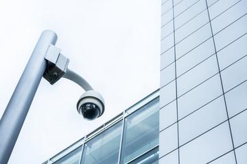 Videoüberwachung eines Gebäudes