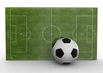 Footbal Field - 3D