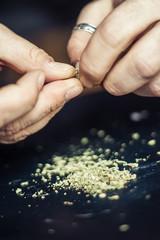 Preparing marijuana cannabis joint. Drugs narcotic concept