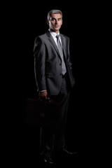 in full growth.modern adult businessman.i