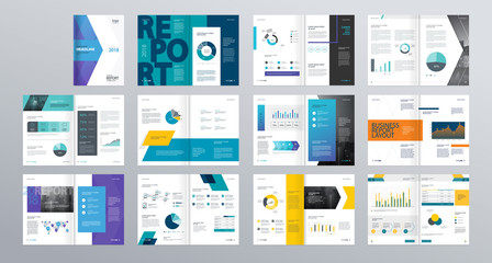 Design vector template layout for company profile ,annual report with cover, brochures, flyers, presentations, leaflet, magazine,book and  a4 size.