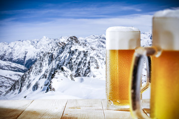 Papiers peints Biere, Cidre winter beer