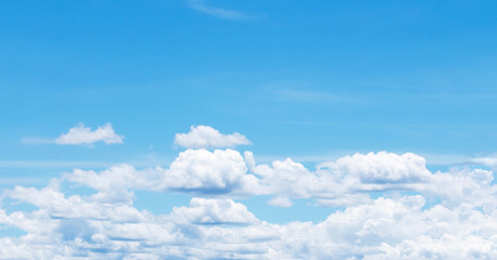 Cloudy sky panorama background