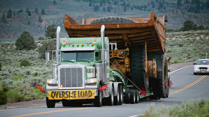 Oversize Load on the move