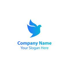 bird logo design, dove logo design