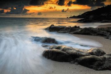 Seascape at Kalim beach, Phuket