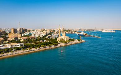 Suez port, Egypt