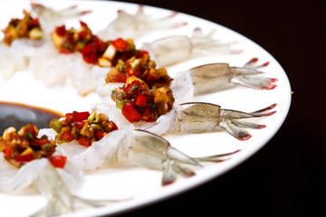 Fresh Shrimps in Fish Sauce
