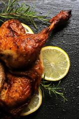Türaufkleber Huhn Grillaður kjúklingur Pollo asado ローストチキン arrosto Brathähnchen Roast chicken Geroosterde kip