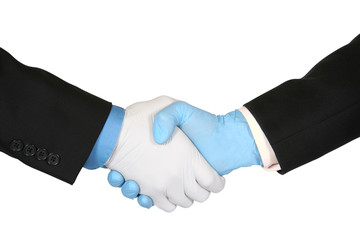 Safe Business Handshake