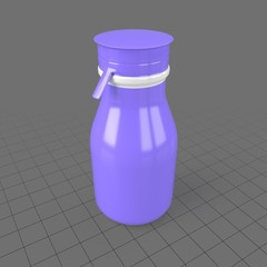 Plastic yogurt bottle 1