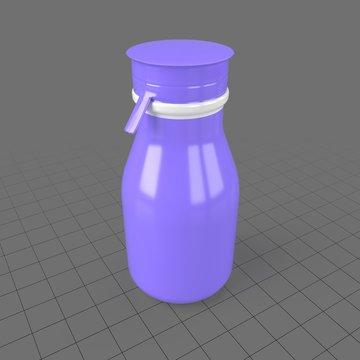 Plastic yogurt bottle 1
