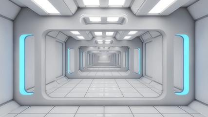 Tunel pusty korytarz 3D