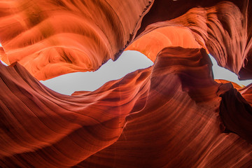 Photo sur Toile Rouge Lower Antelope Canyon