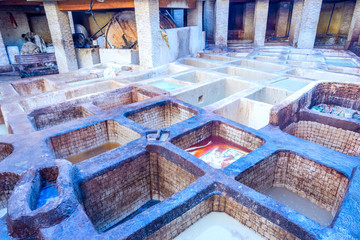 Tannery pools, Fez