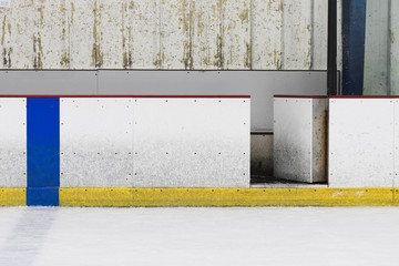 Hockey Ice Rink Wall