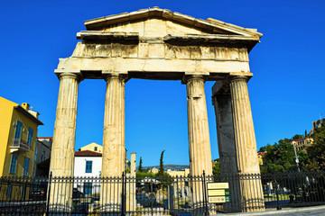 Roman agora in Athens.