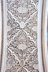 Detail, Bahia palace, Marrakech